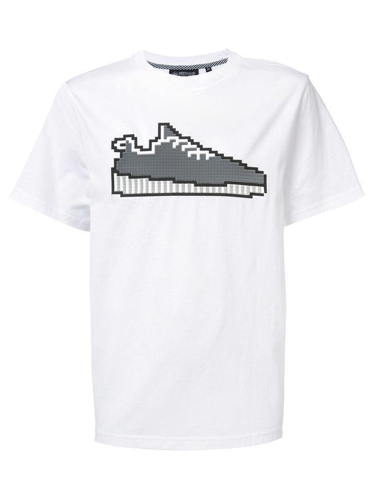 8Bit By Mhrs sneaker T-shirt, Men's, Size: XXL, White