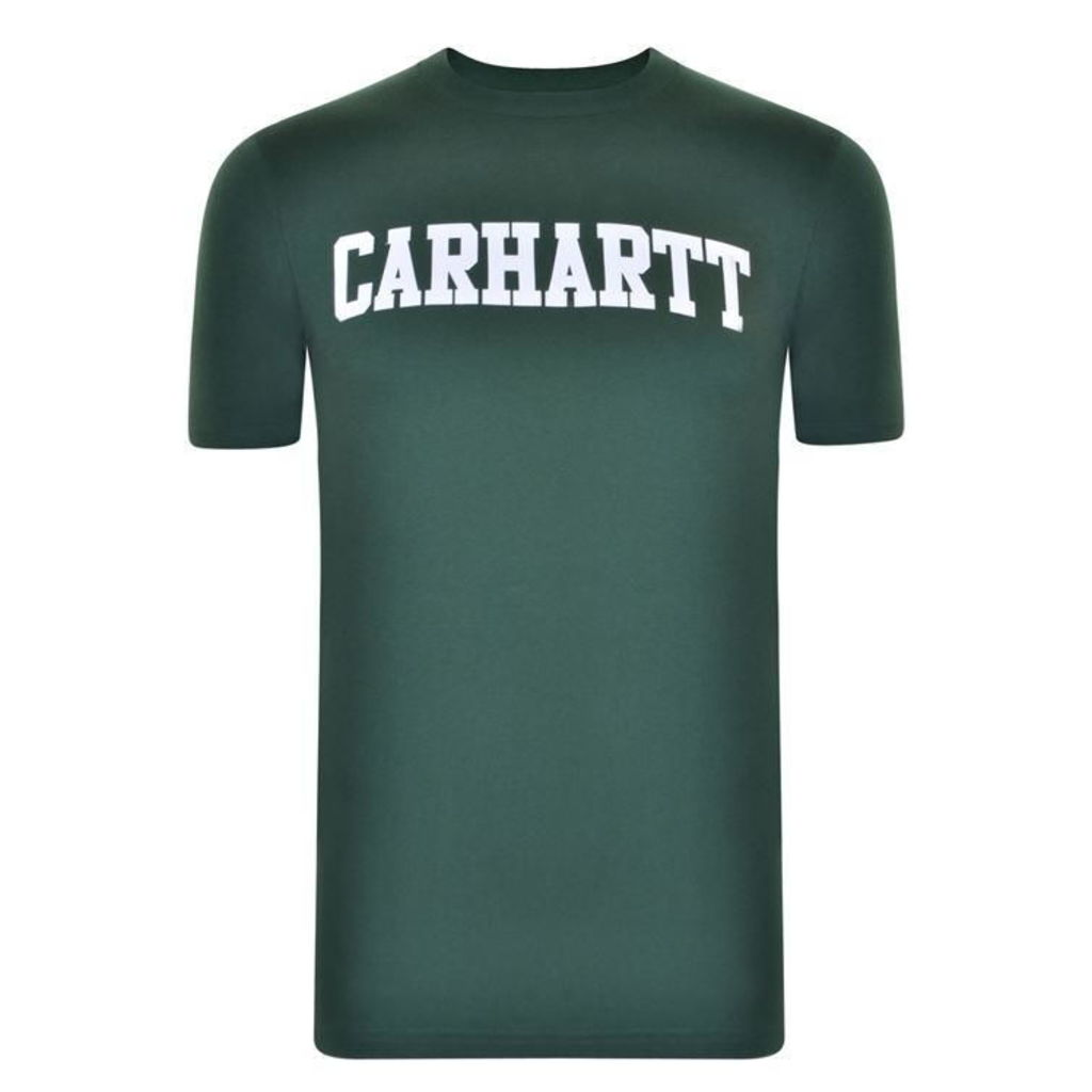CARHARTT Short Sleeved College T Shirt