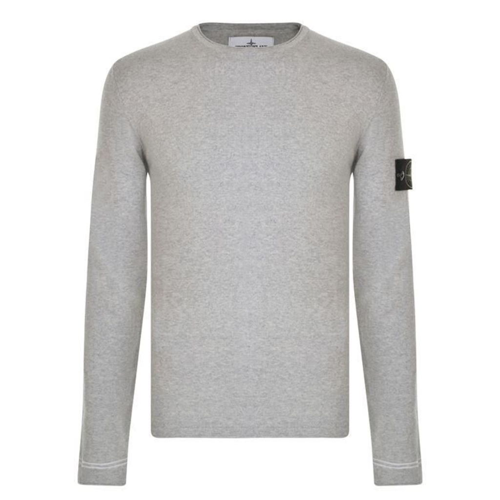 STONE ISLAND Knitted Long Sleeved T Shirt