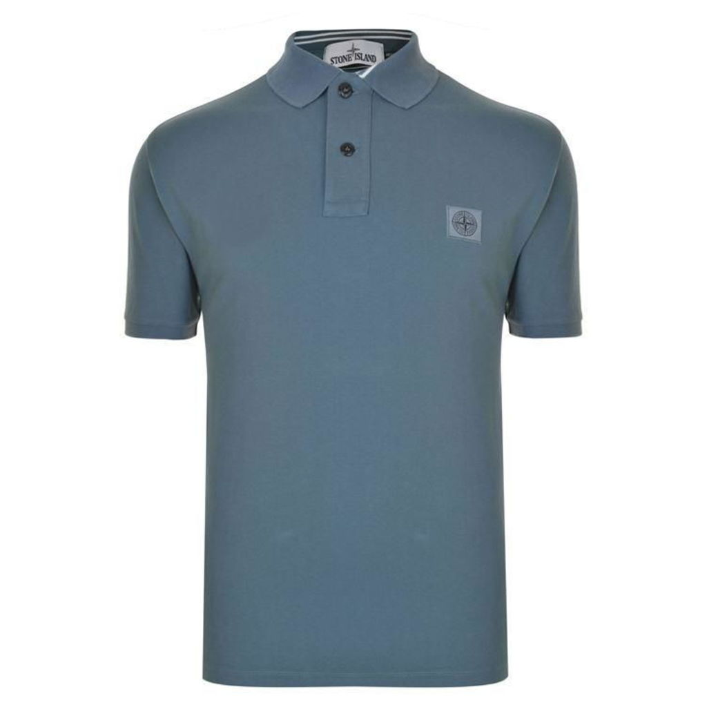 STONE ISLAND Short Sleeved Polo Shirt