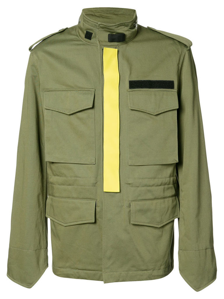 Givenchy pocketed jacket, Men's, Size: 50, Green