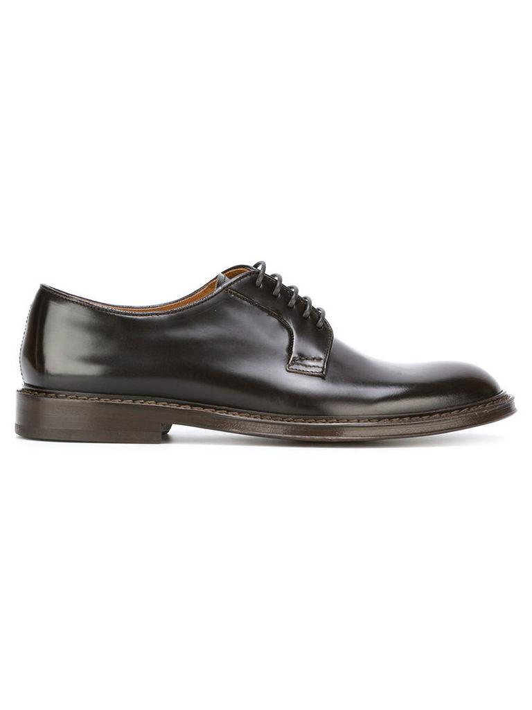 Doucal's Derby shoes, Men's, Size: 40, Black