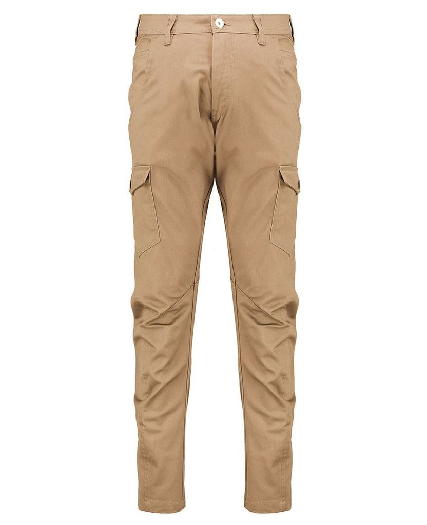 Men's Blue Inc Tan Multi Pocketed Industrialized Cargo Twill, Brown
