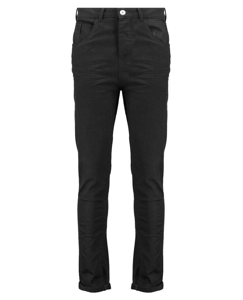 Men's Blue Inc Black Wash Skinny Fit 5 Pocket Denim, Black