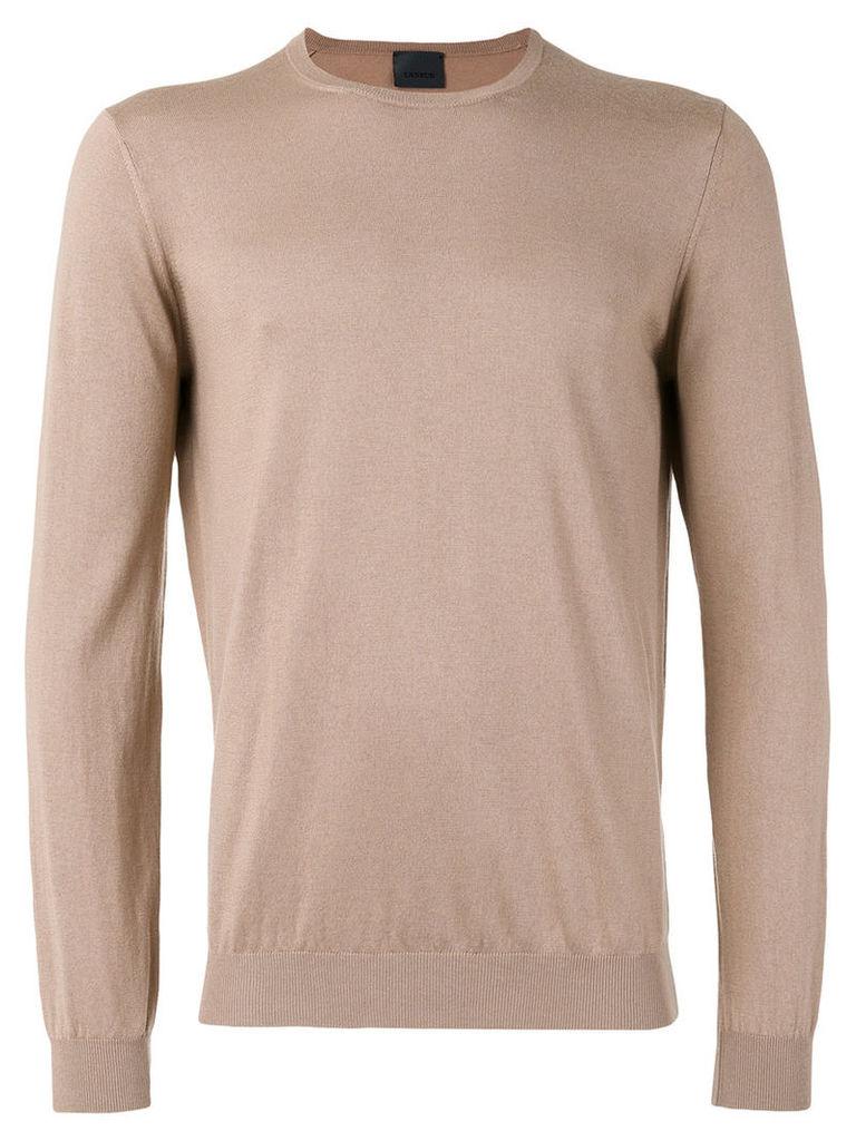 Laneus crew-neck jumper, Men's, Size: 50, Brown