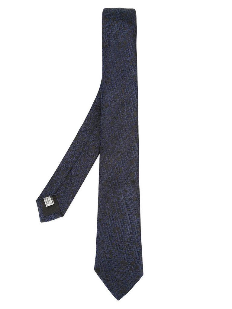 Dior Homme printed tie, Men's, Blue