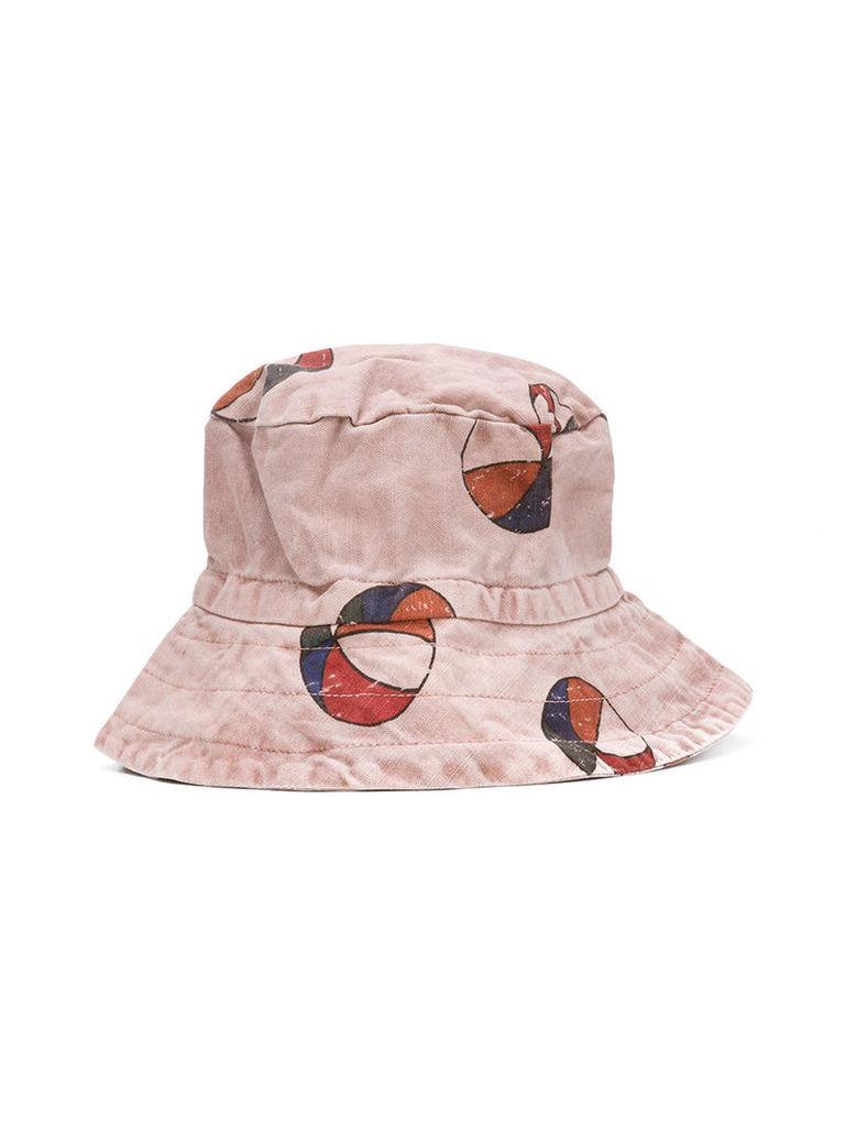 Bobo Choses Basketball sun hat, Boy's, Pink/Purple