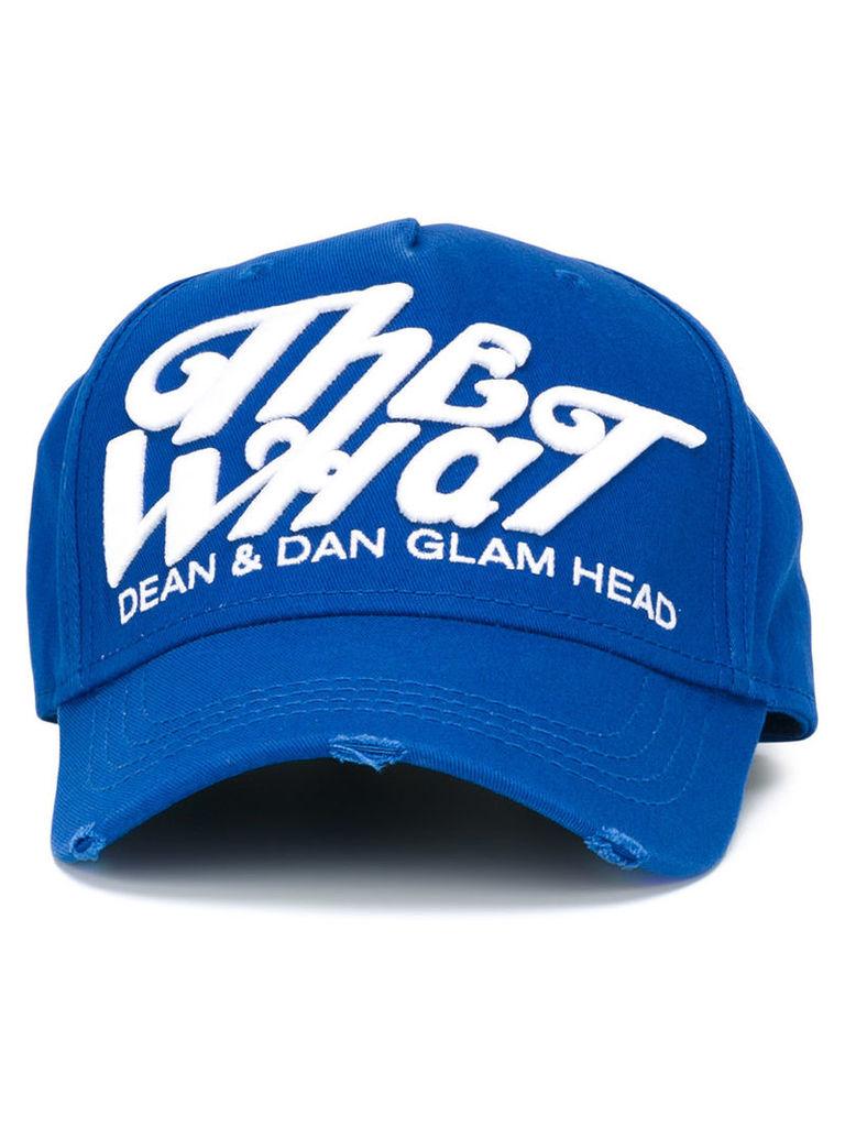 Dsquared2 The What cap, Men's, Blue