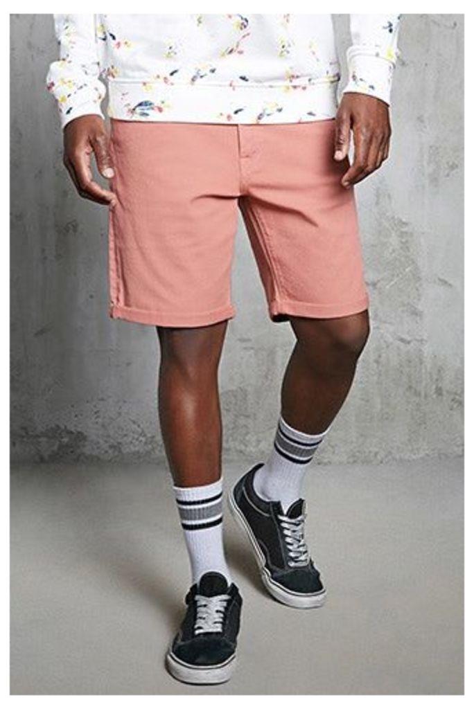 Clean Wash Denim Shorts