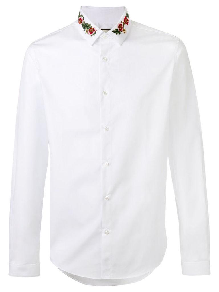 Gucci floral collar Duke shirt, Men's, Size: 41, White