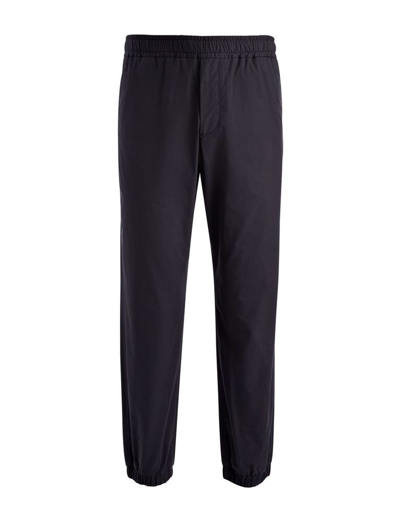 Light Cotton Epping Trouser in Navy