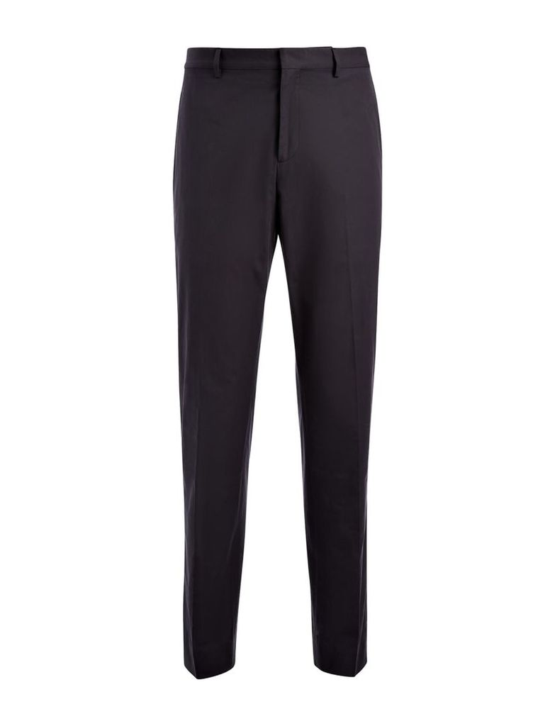 Light Cotton Jack Trousers in Navy