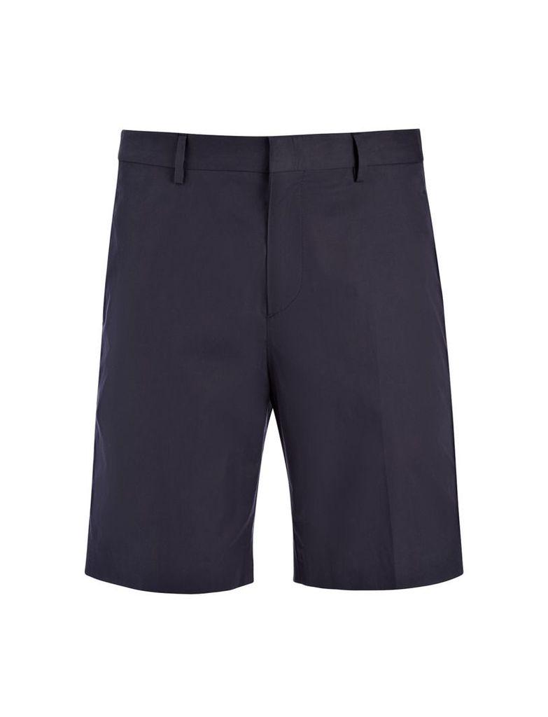 Light Cotton Jack Shorts in Navy