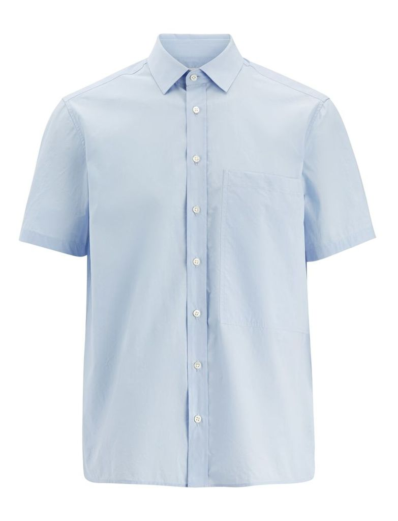 Parachute Poplin Deal Shirt in Sky Blue