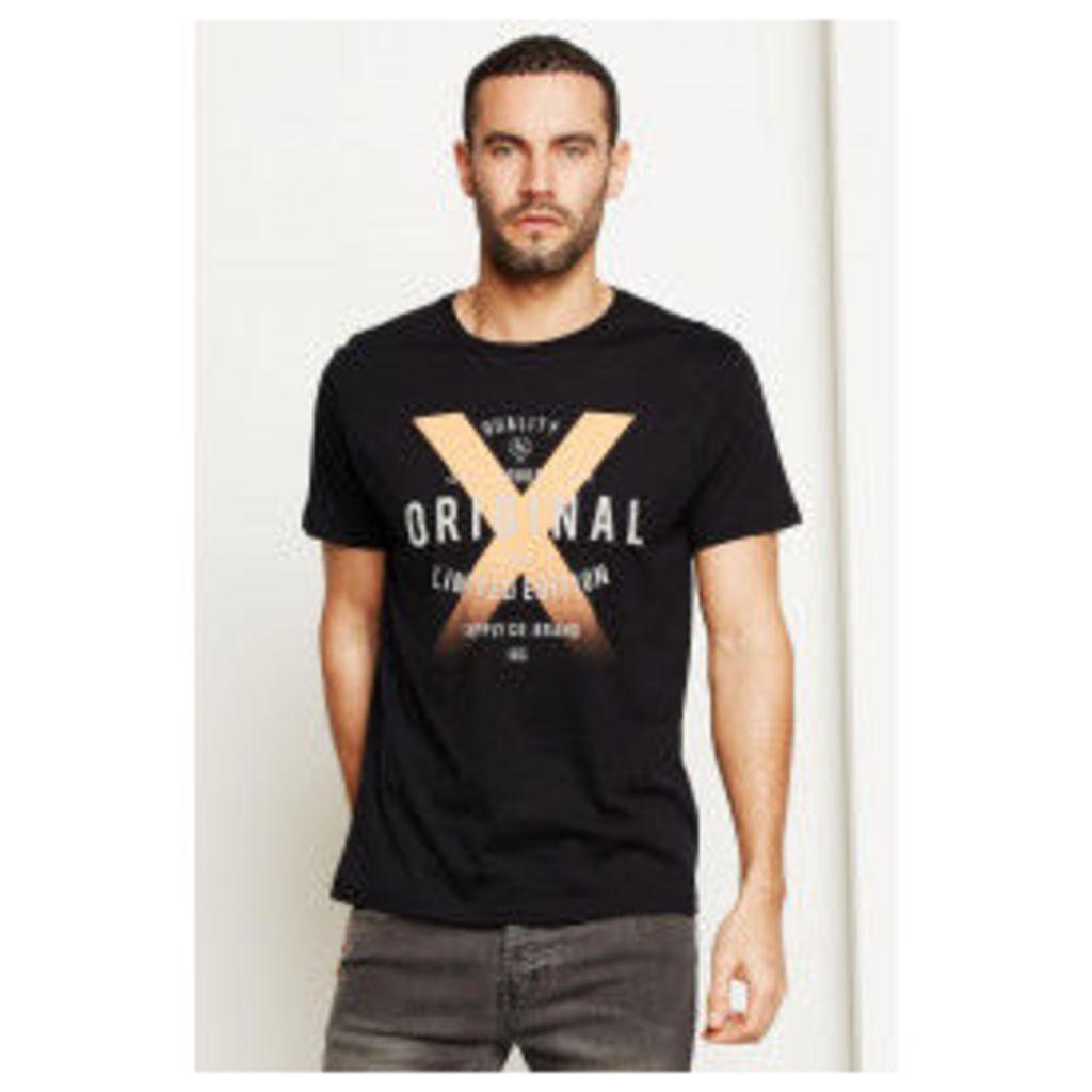 Threadbare Original X Tee - Black