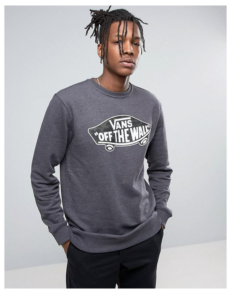 Vans Sweatshirt In Black - Black