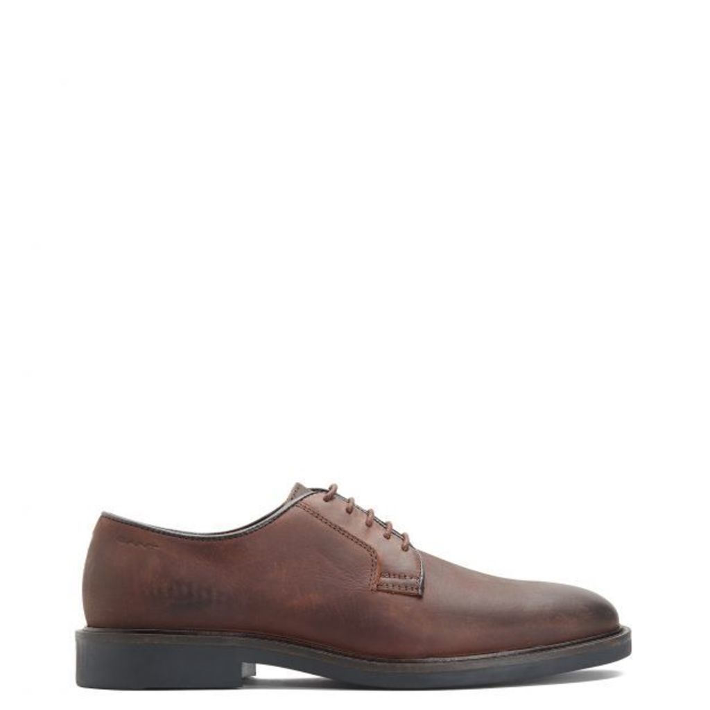 Spencer Oxford Shoe - Dark Brown