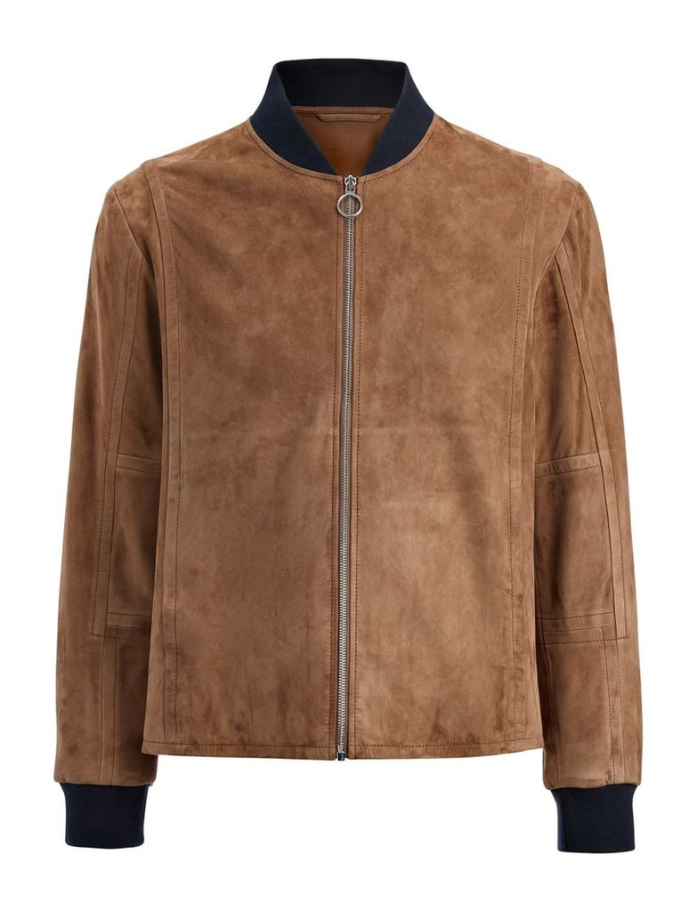 Cashmere Suede Kendal Jacket in Clay