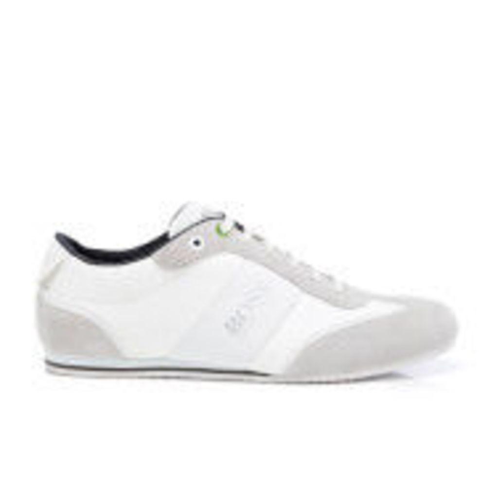 BOSS Green Men's Lighter Low Top Trainers - White - UK 7