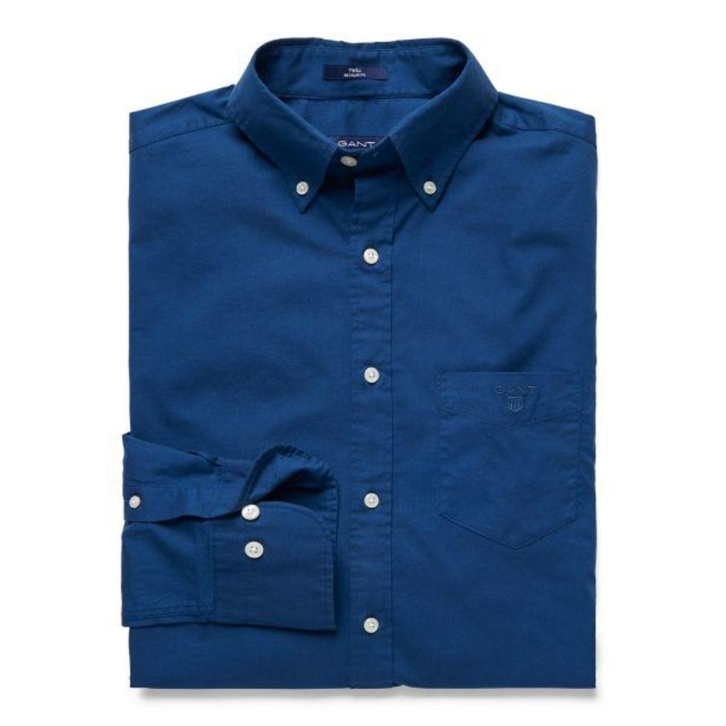 Weekend Twill Shirt - Persian Blue