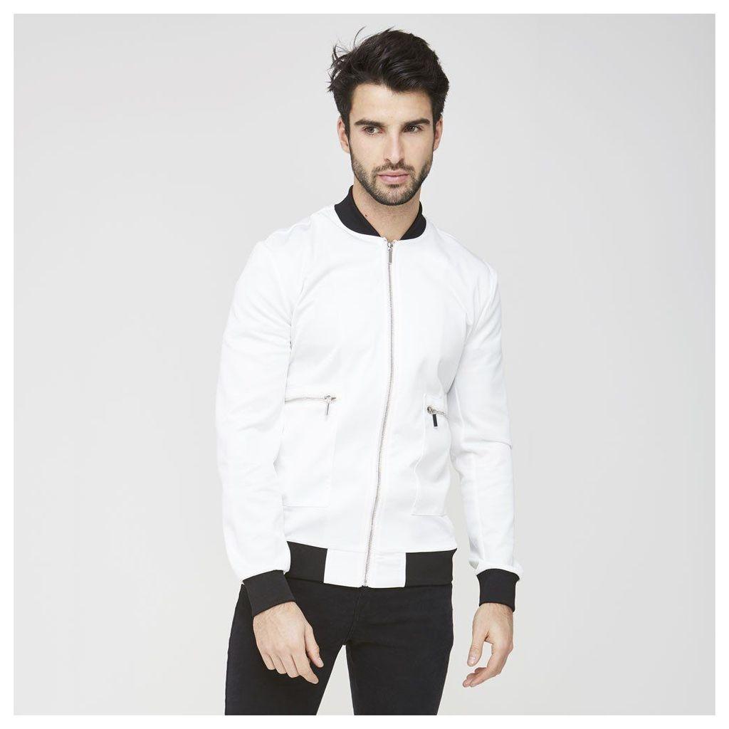 Maniere De Voir; Contrast Bomber - White/Black