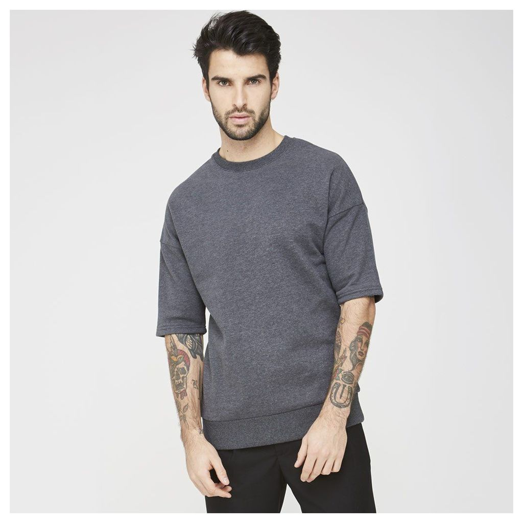 Maniere De Voir; Short Sleeve Jumper - Grey