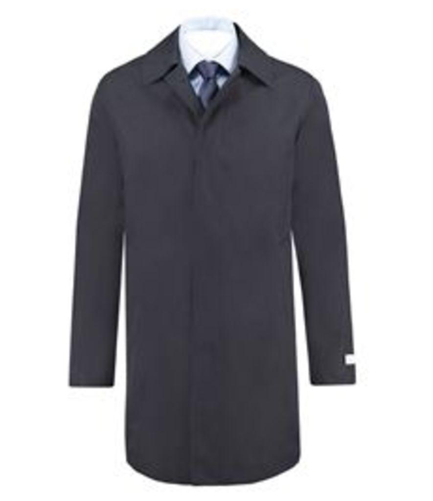 Men's Classic Navy Raincoat