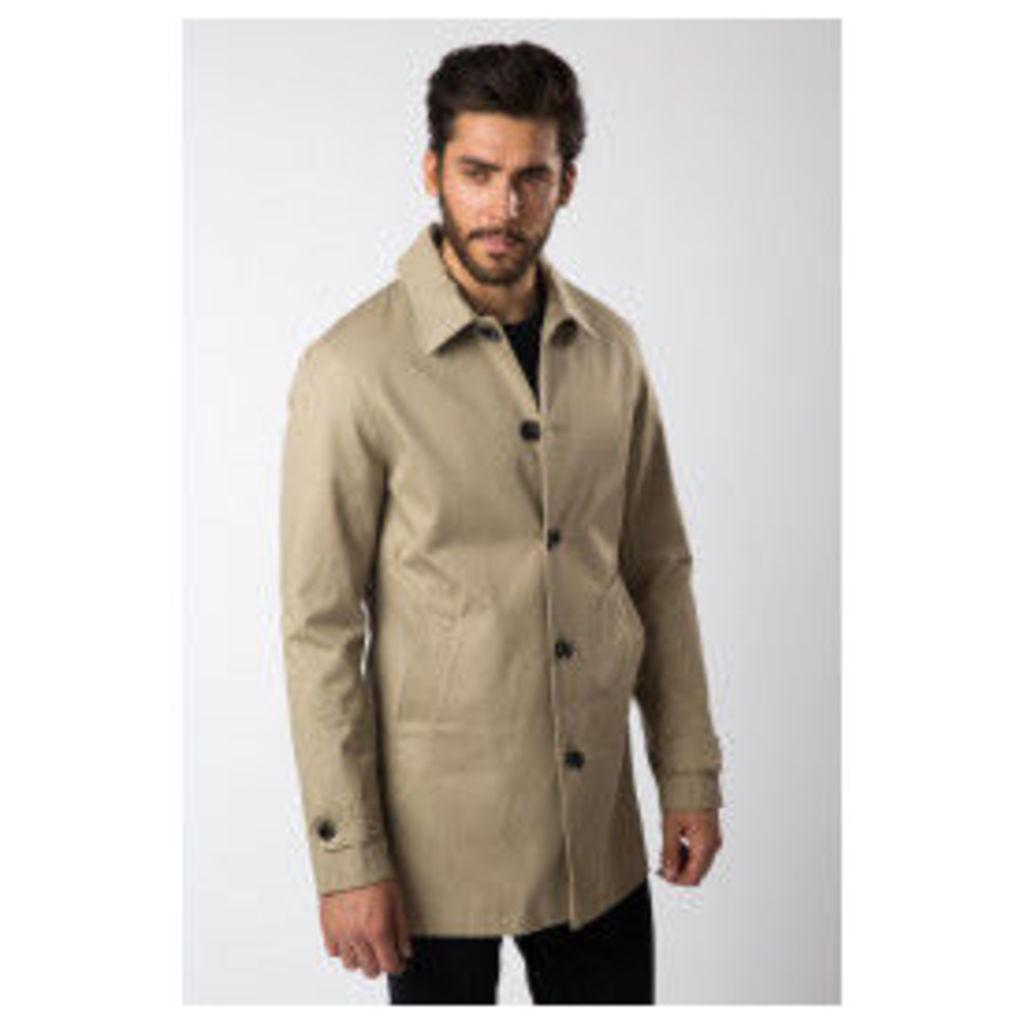 Threadbare Spark Mac Jacket - Beige
