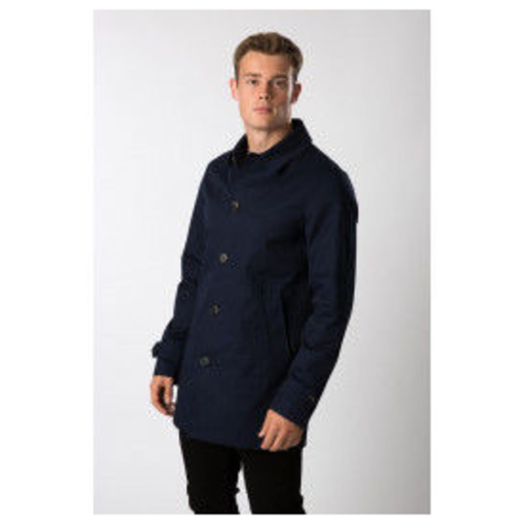 Threadbare Spark Mac Jacket - Blue