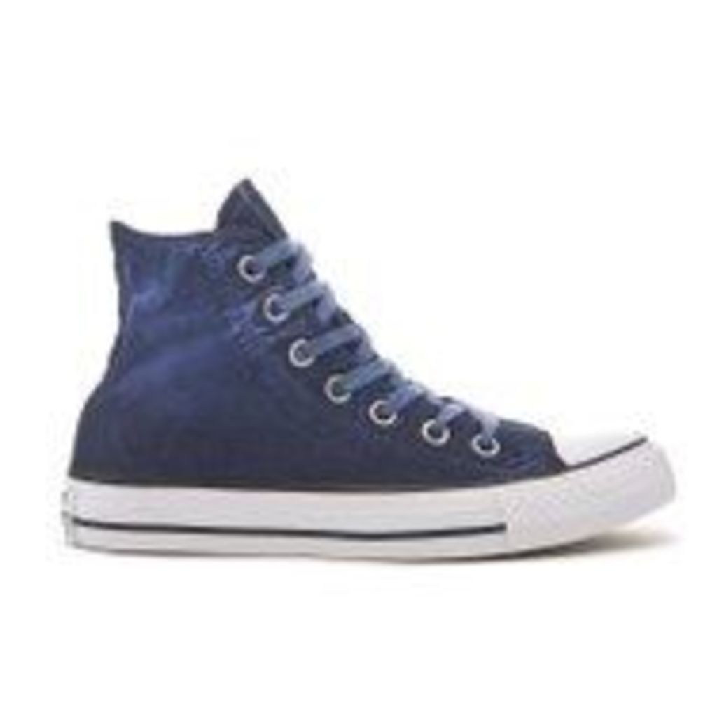 Converse Chuck Taylor All Star Hi-Top Trainers - Obsidian/Black/White - UK 6