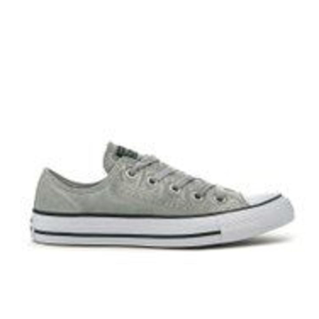 Converse Chuck Taylor All Star Ox Trainers - Dolphin/Black/White - UK 7