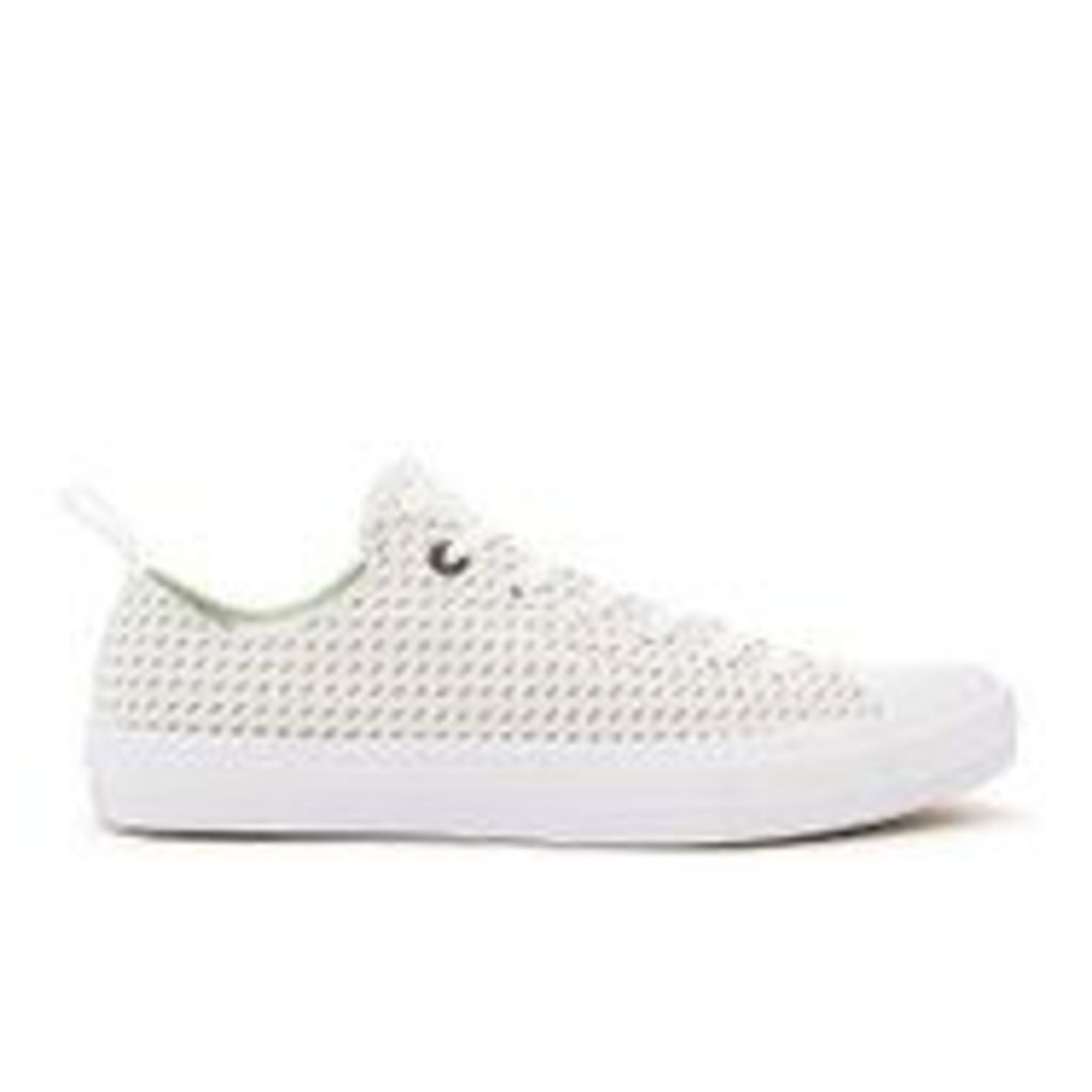 Converse Men's Chuck Taylor All Star II Ox Trainers - White/Ash Grey/Gum - UK 11