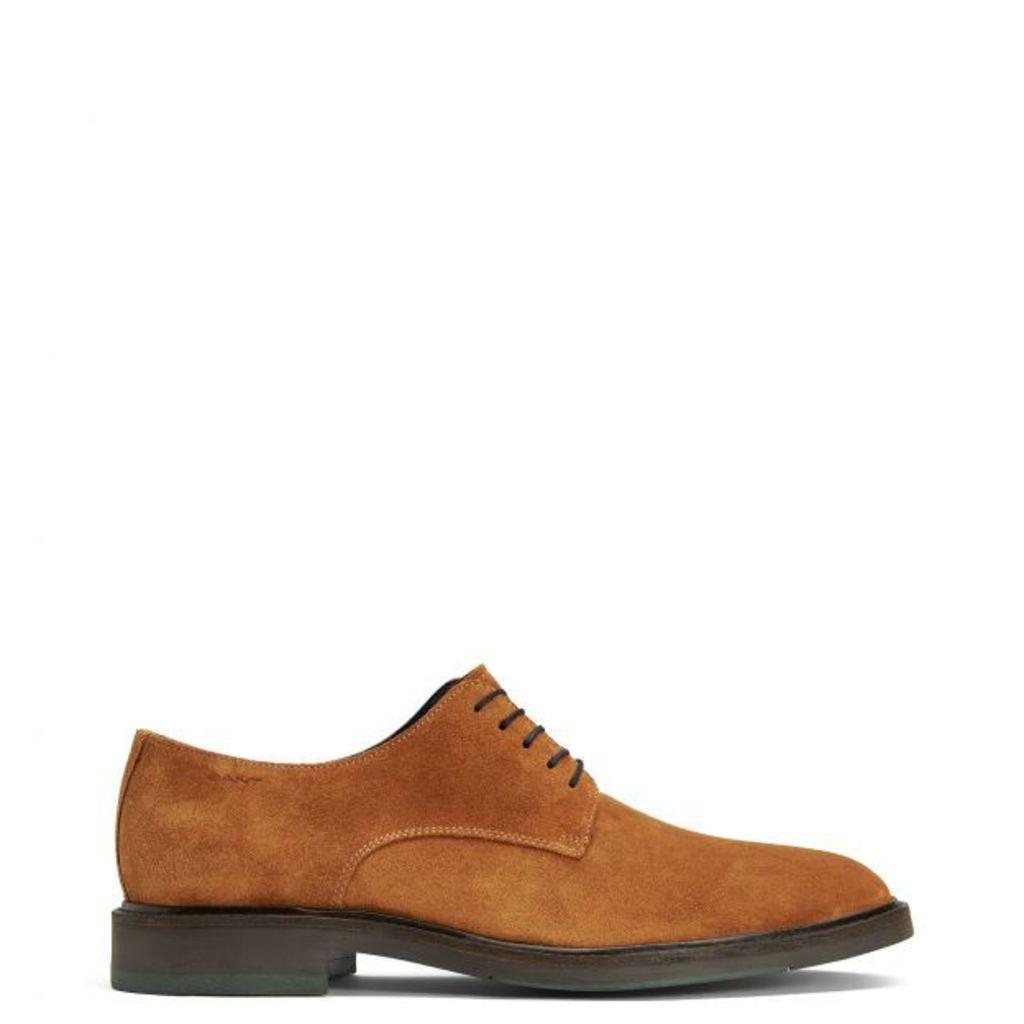 Walter Oxford Shoe - Rich Brown