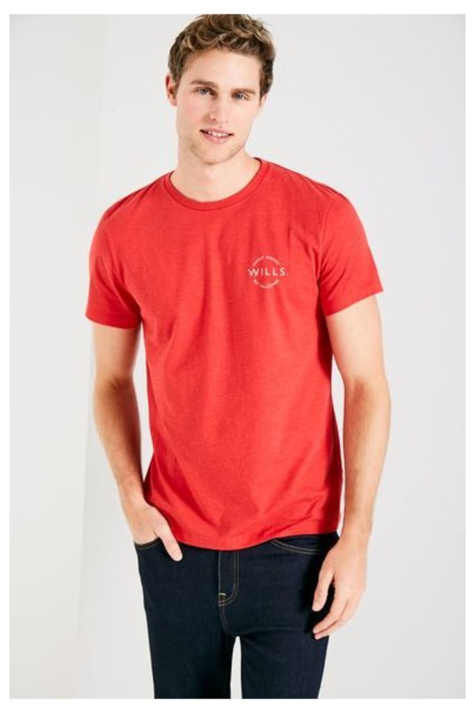 CAMPBELL T-SHIRT RED