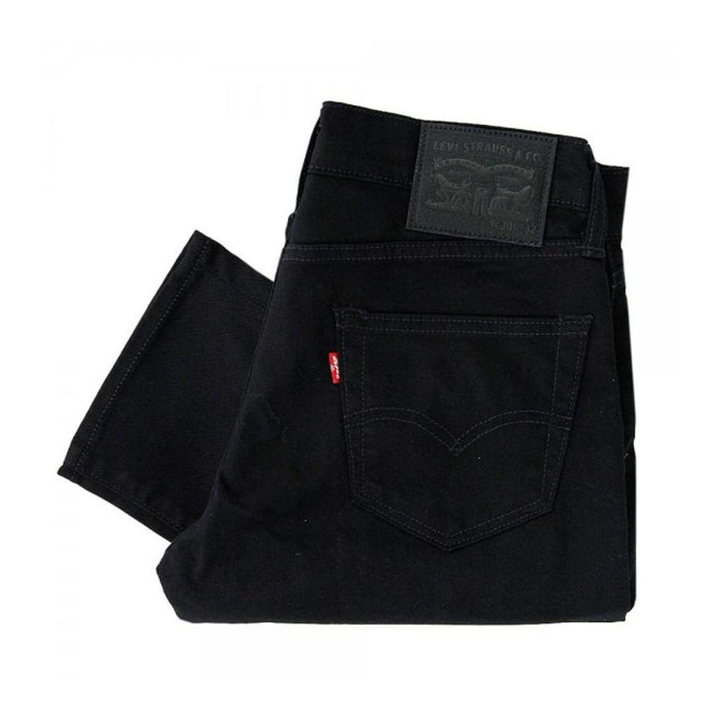 Levi's 512 Slim Tapered Black Denim Jeans 28833-0013