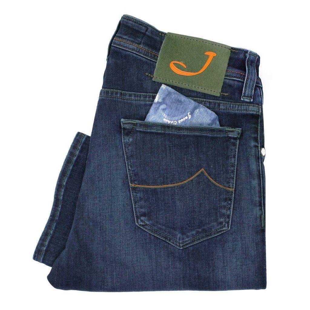 Jacob Cohen PW622 Mid Blue Denim Jeans