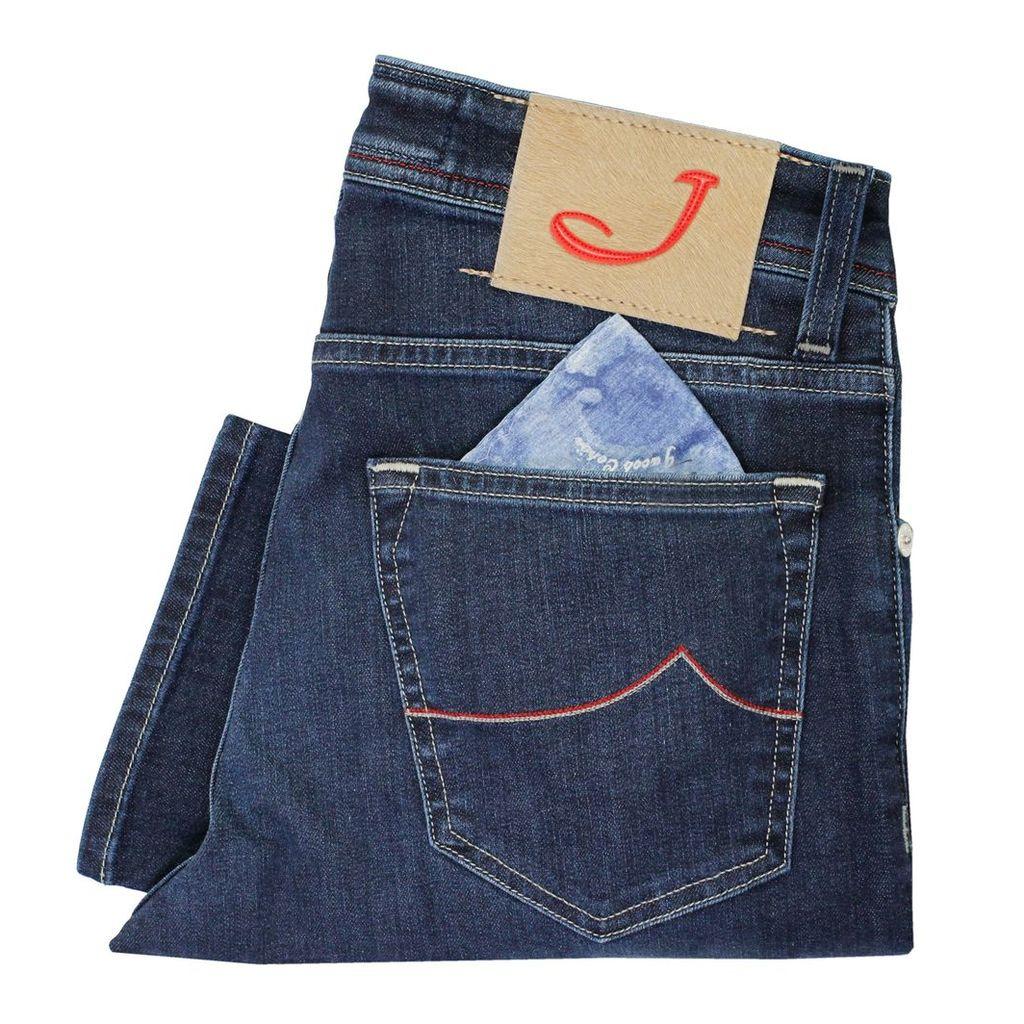 Jacon Cohen PW622 Dark Wash Denim Jeans