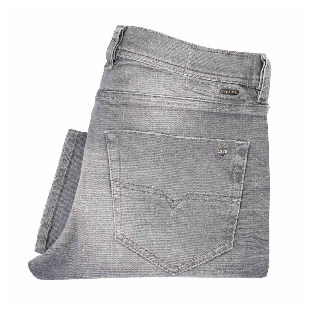 Diesel Tepphar Grey Wash Denim Jeans 0839N