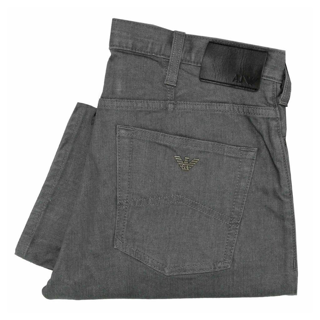 Armani Jeans J21 Grey Denim Jeans 8N6J21 6DLPZ