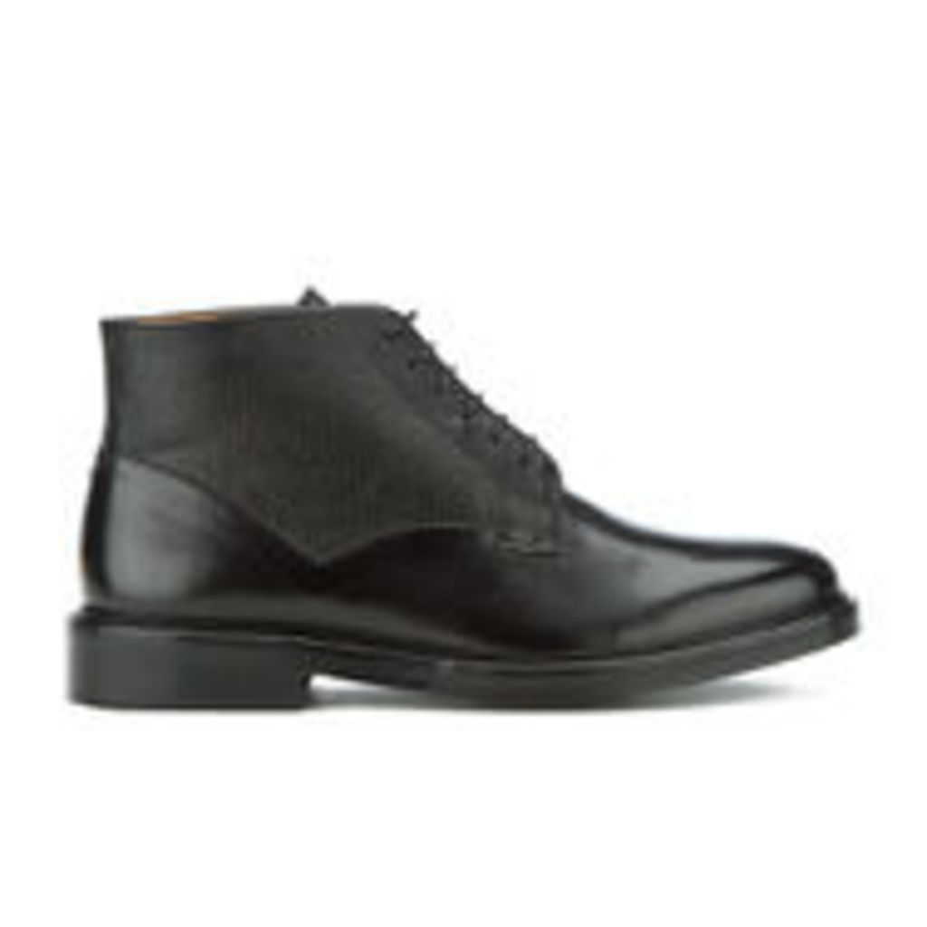PS by Paul Smith Men's Munari Leather Lace Up Boots - Black - UK 10