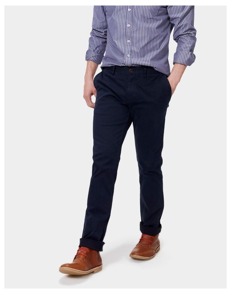 Navy Chino Trousers  Size 34 | Joules UK