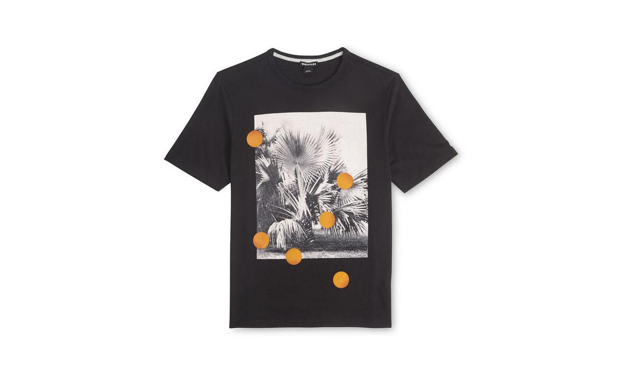 Palm Dot Printed T-shirt
