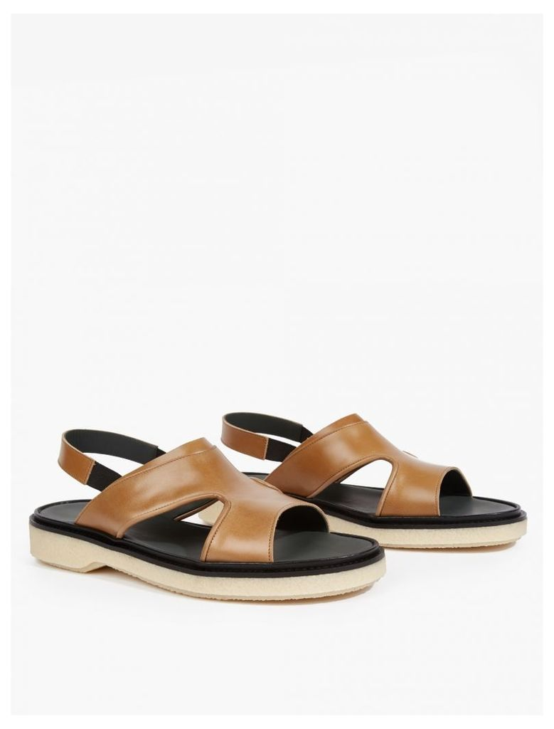 Tan Leather Type 43 Sandals