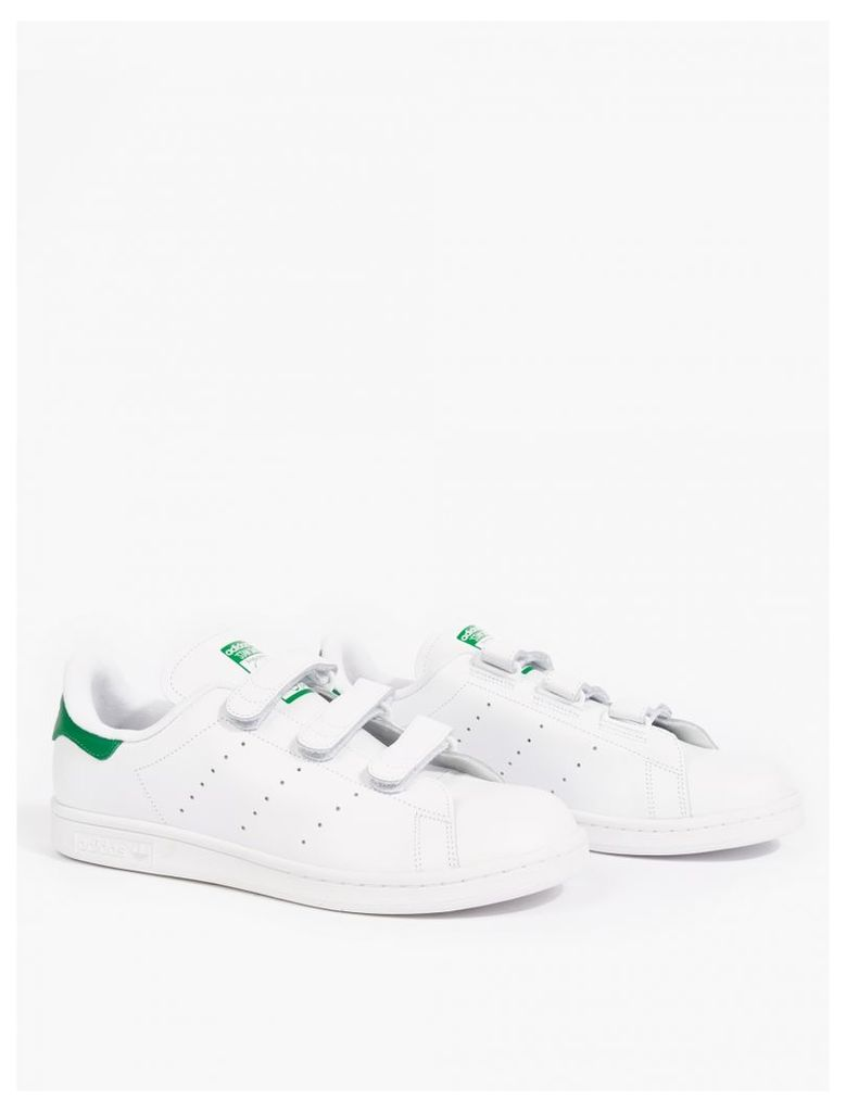 White Leather Stan Smith CF Sneakers