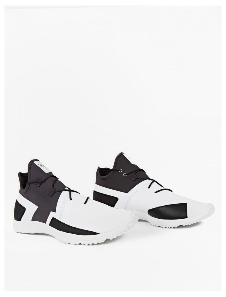 Black and White Arc RC Sneakers