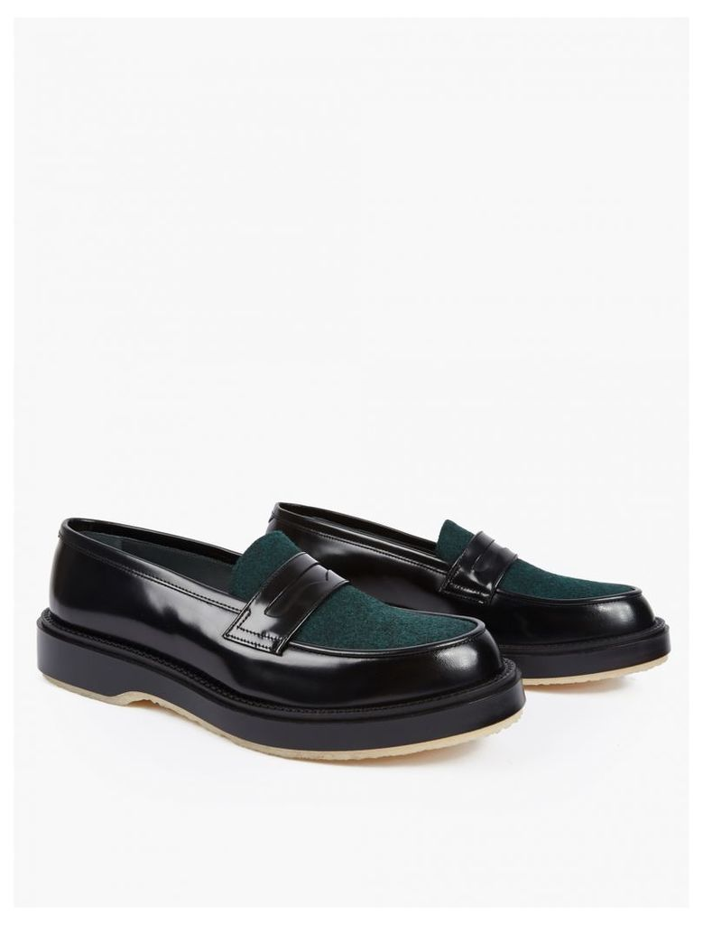 Contrasting Panelled Type 5 Loafers