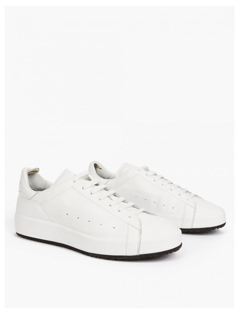 White Leather Florida Sneakers