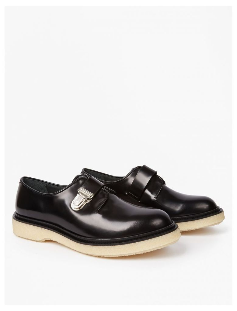 Black Type 90 Leather Shoes