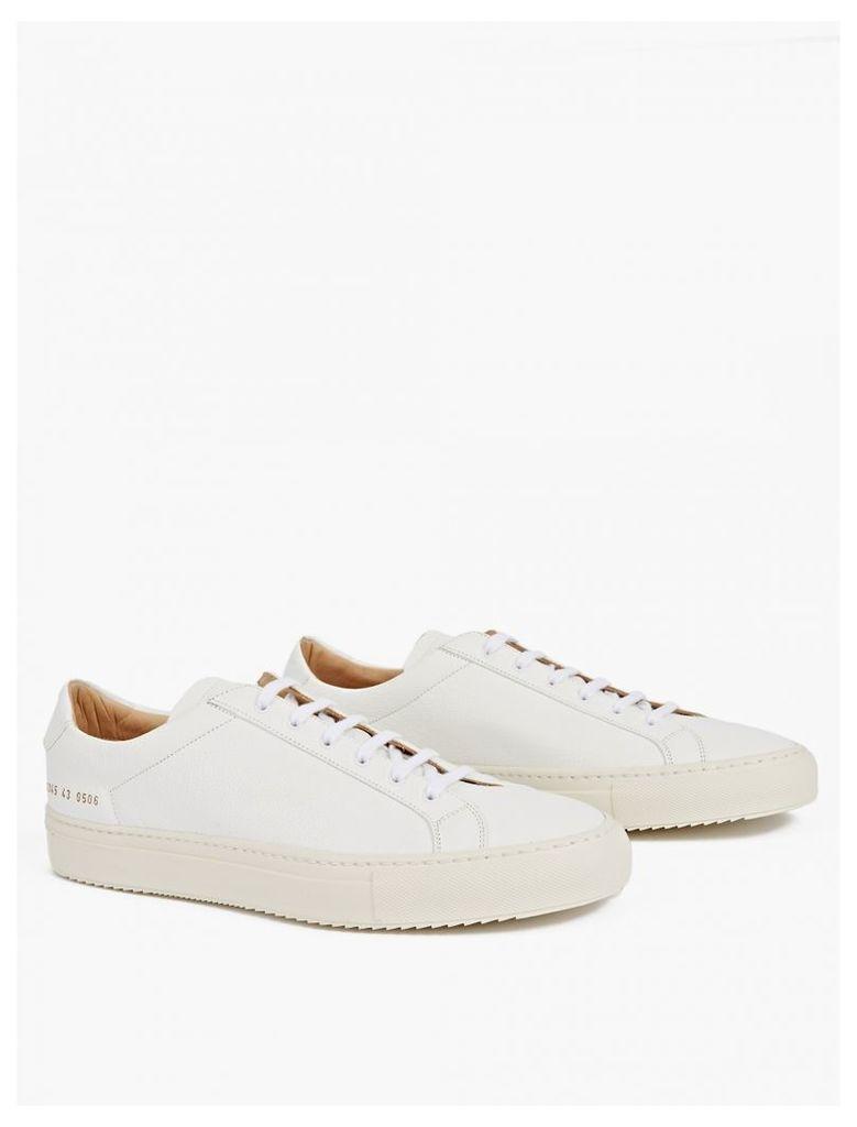 White Premium Achilles Low Sneakers