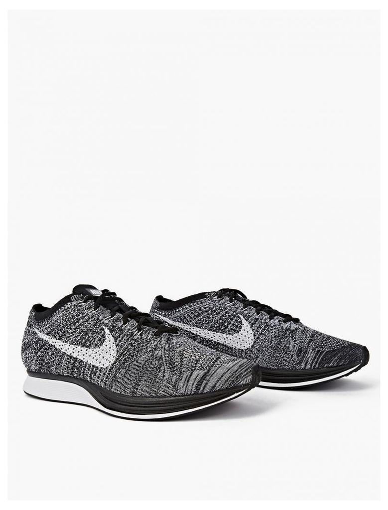 Oreo Flyknit Racer Sneakers